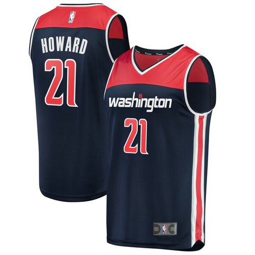 canotta Jabari Parker 12 2019 Washington Wizards navy