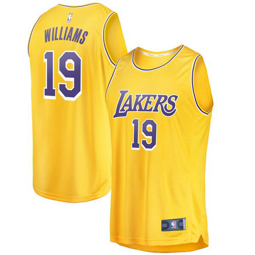 canotta Johnathan Williams 19 2019 los angeles lakers giallo