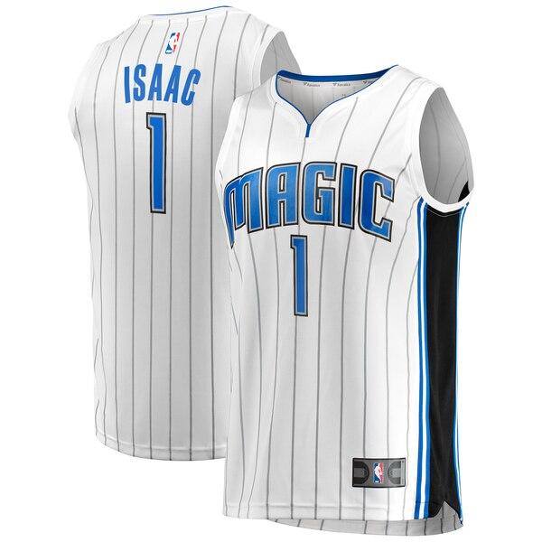 maglia jonathan isaac 1 2020 orlando magic bianca