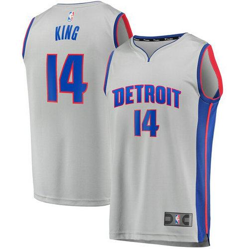 maglia Louis King 14 2019 detroit pistons bianca