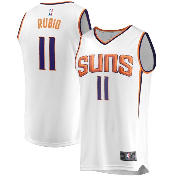 maglia Ricky Rubio 11 2019-2020 phoenix suns bianca