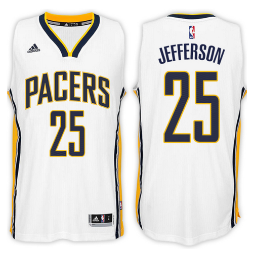 maglia basket al jefferson 25 2017 indiana pacers bianca