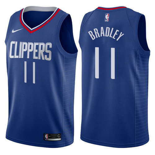 maglia nba avery bradley 11 2017-2018 los angeles clippers navy