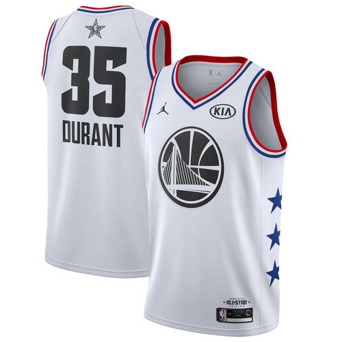 canotta basket Kevin Durant 35 nba all star 2019 bianca