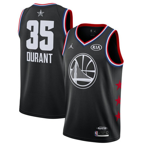 canotta basket Kevin Durant 35 nba all star 2019 nero