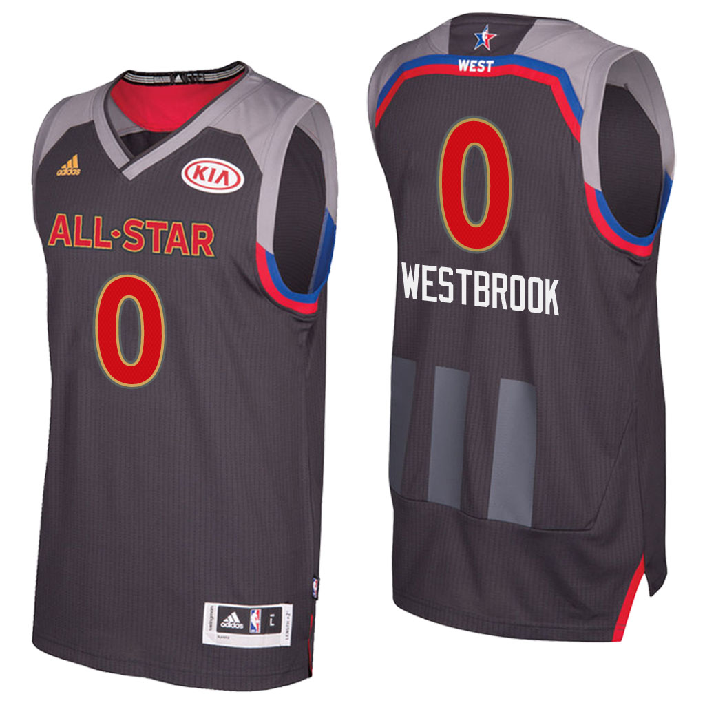 canotta basket russell westbrook 0 nba all star 2017 marrone
