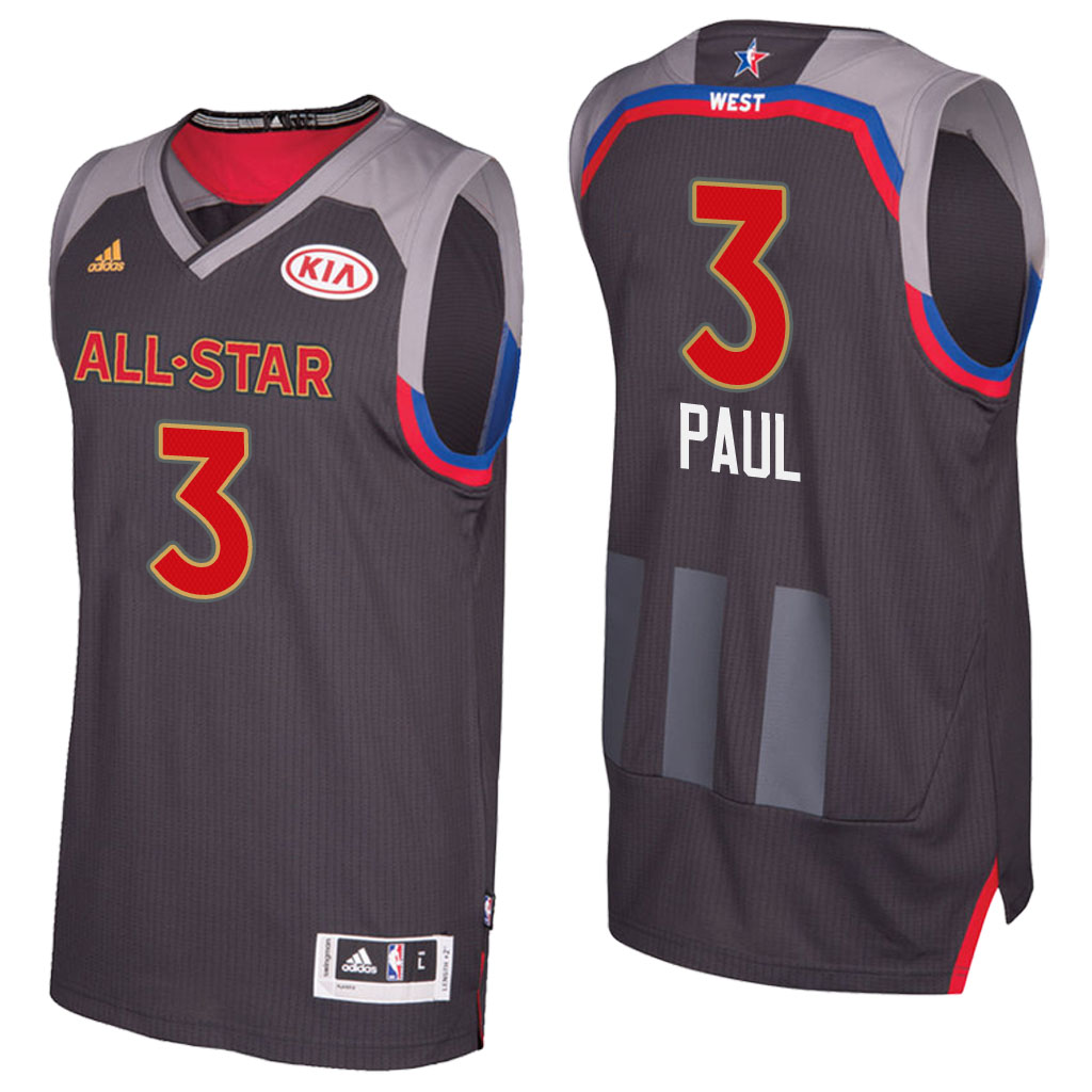 canotta basket chris paul 3 nba all star 2017 marrone