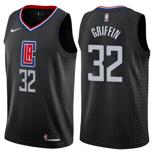 maglia blake griffin 32 2017-2018 los angeles clippers nero