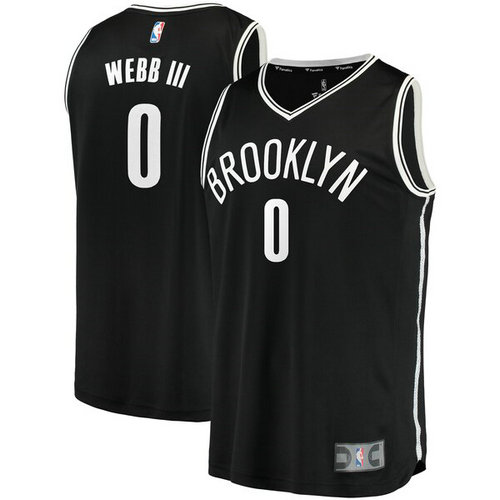 maglia James Webb III 2019 brooklyn nets nero