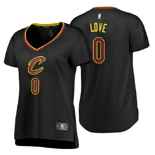 canotte basket donne kevin love 0 2018 cleveland cavaliers nero
