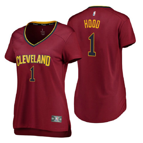 canotte basket donne rodney hood 1 2018 cleveland cavaliers rosso