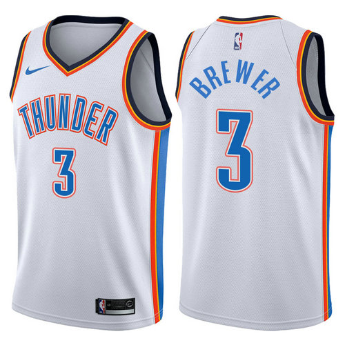canotta nba corey brewer 3 2017-2018 oklahoma city thunder bianca