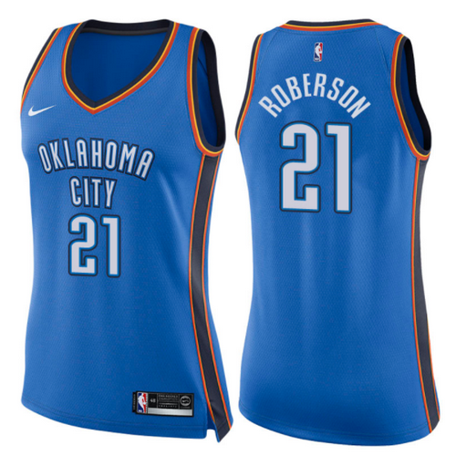 canotte basket donne andre roberson 21 2017-2018 oklahoma city thunder blu
