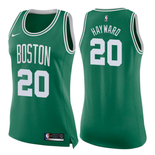 maglie nba donne gordon hayward 20 2017-2018 boston celtics verde