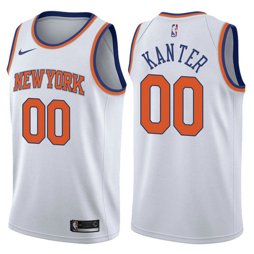 canotta enes kanter 00 2017-2018 new york knicks bianca