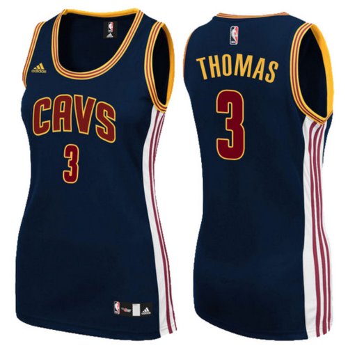 canotte basket donne isaiah thomas 3 cleveland cavaliers navy