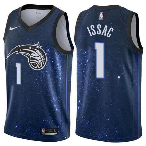 maglia jonathan issac 1 2017-2018 orlando magic navy