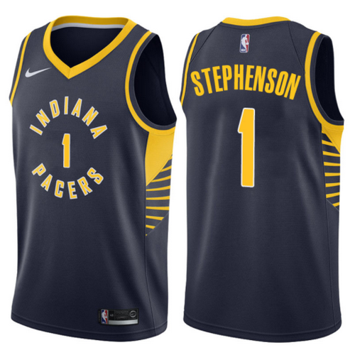maglia lance stephenson 1 2017-2018 indiana pacers navy
