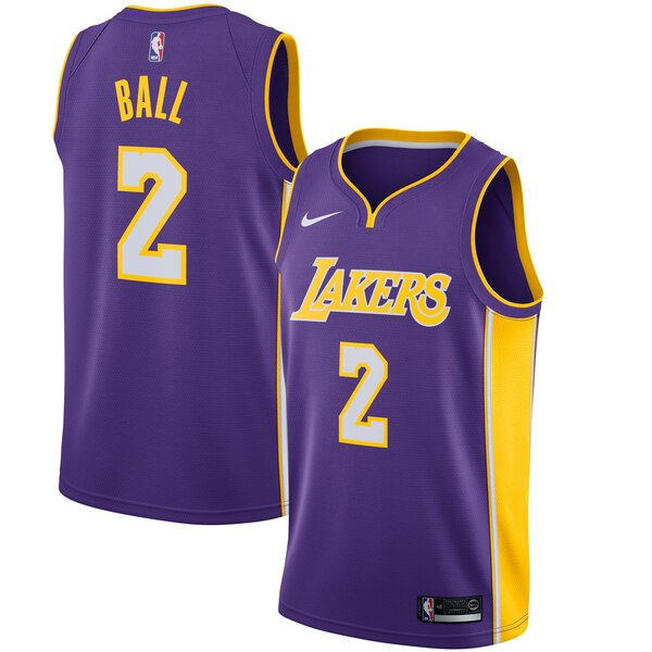 maglia lonzo ball 2 2020 los angeles lakers blu