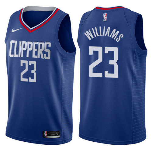 maglia lou williams 23 2017-2018 los angeles clippers navy