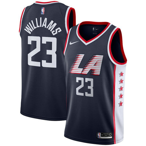 maglia lou williams 23 2018-2019 los angeles clippers navy
