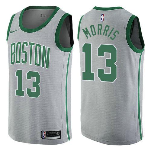 maglia basket marcus morris 13 2017-2018 boston celtics grigio