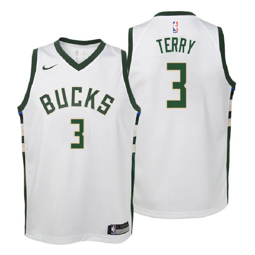 canotta milwaukee bucks bambino 2017-2018 jason terry 3 bianca