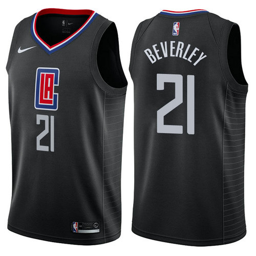 maglia patrick beverley 21 2017-2018 los angeles clippers nero