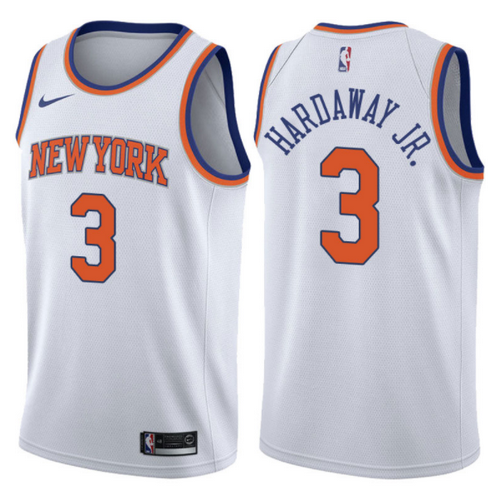canotta basket tim hardaway jr. 3 2017-2018 new york knicks bianca