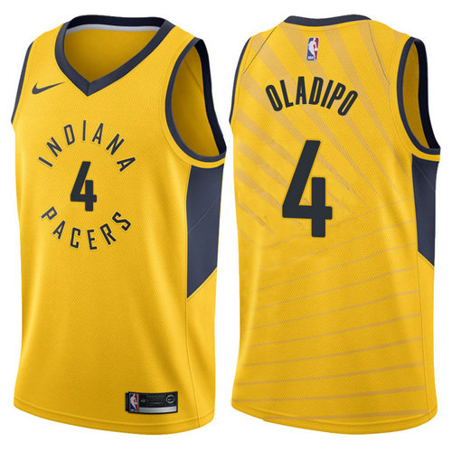 maglia victor oladipo 4 2017-2018 indiana pacers giallo