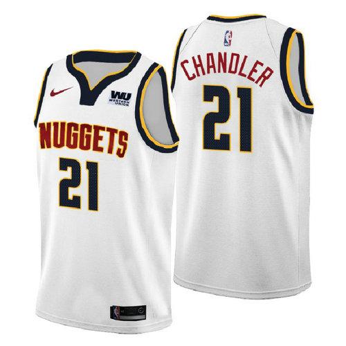 Denver Nuggets 2018: Divise Denver Nuggets:maglia Wilson Chandler 21 2018-2019