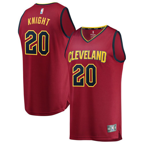 Maglie Basket Brandon Knight 20 2019 cleveland cavaliers Rosso