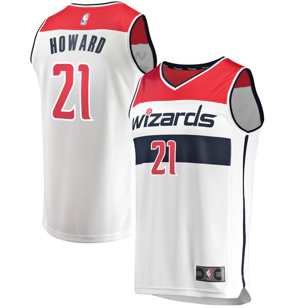 canotta Dwight Howard 21 2019 Washington Wizards Bianco