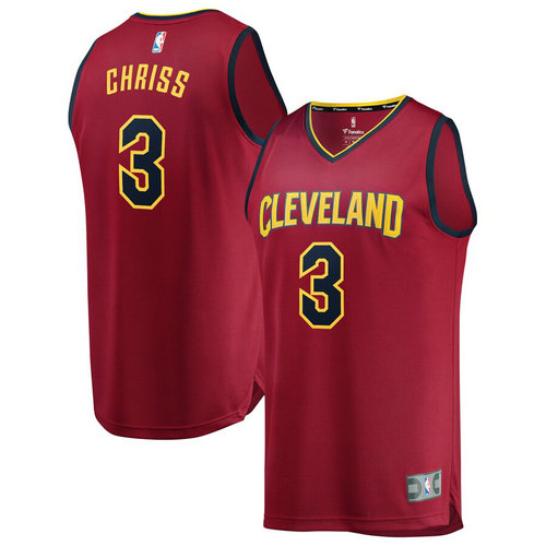 Maglie Basket Marquese Chriss 3 2019 cleveland cavaliers Rosso