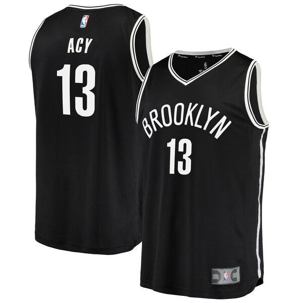 maglia quincy acy 13 2020 brooklyn nets nero
