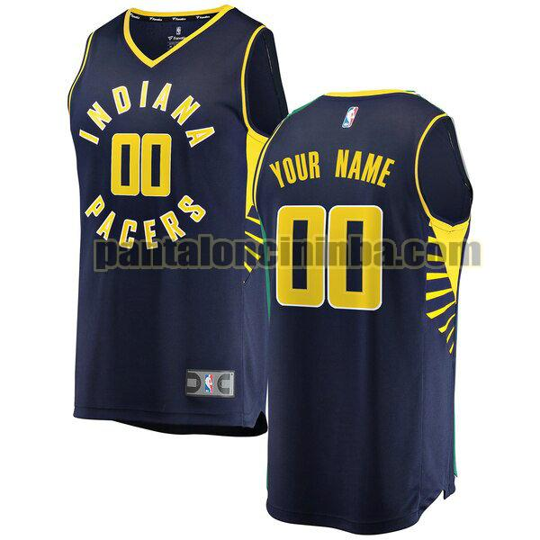 maglia bambino basket Custom 0 indiana pacers navy 2020