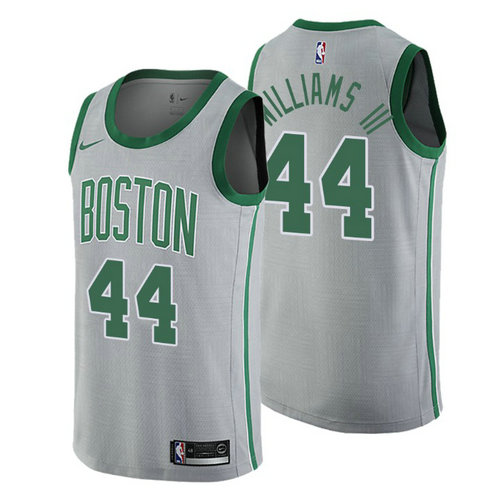 maglia robert williams III 44 2018 boston celtics grigio