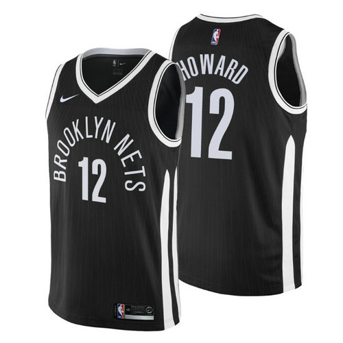 maglia dwight howard 12 2018-2019 brooklyn nets nero