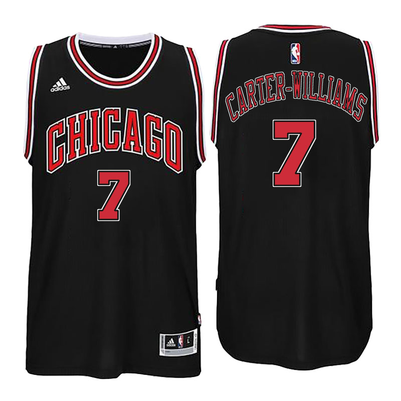 maglia chicago bulls 2016-2017 michael carter williams 7 nero