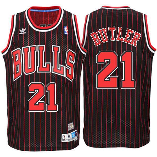 canotta jimmy butler 21 con chicago bulls 2016-2017 striscia