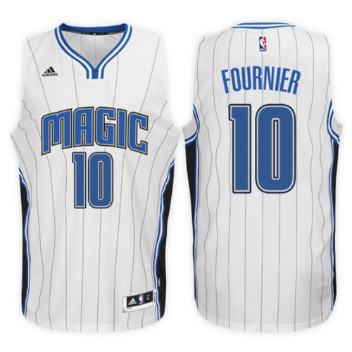 maglia evan fournier 10 2017 orlando magic bianca