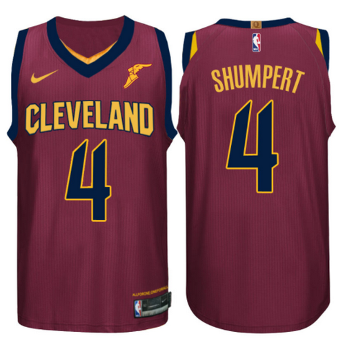 maglia basket iman shumpert 4 2017-2018 cleveland cavaliers rosso