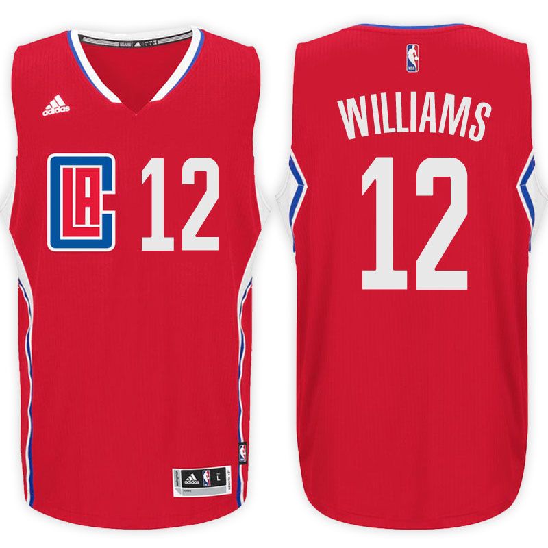 maglia louis williams 12 2017 los angeles clippers rosso