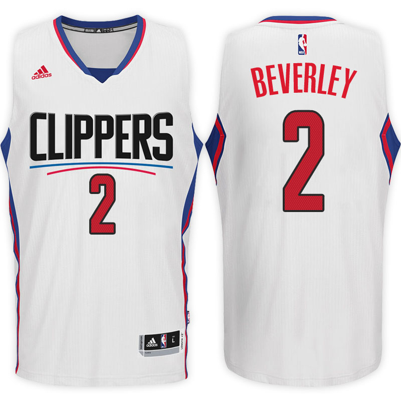 maglia basket patrick beverley 2 2017 los angeles clippers bianca