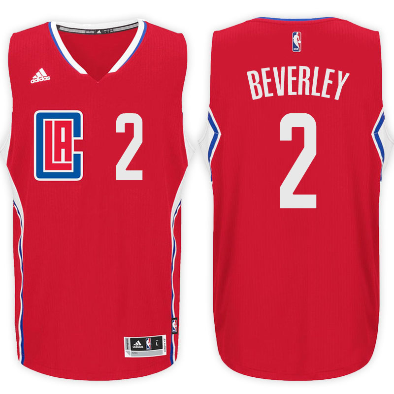 maglia patrick beverley 2 2017 los angeles clippers rosso