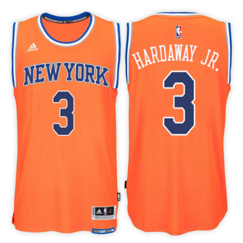 maglia nba tim hardaway jr. 3 2017 new york knicks arancia