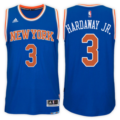 maglia nba tim hardaway jr. 3 2017 new york knicks blu