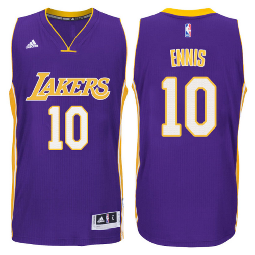 maglia tyler ennis 10 2017-2018 los angeles lakers porpora