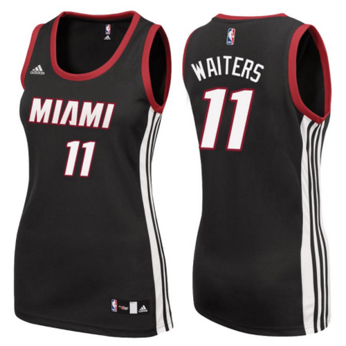 maglia nba donna miami heat dion waiters 11 nero