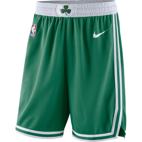 pantaloncini nba basket boston celtics 2017-2018 verde